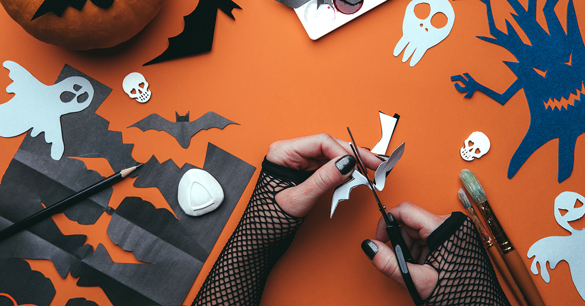 How to Make Spooky Cutouts with Canva and Soda PDF