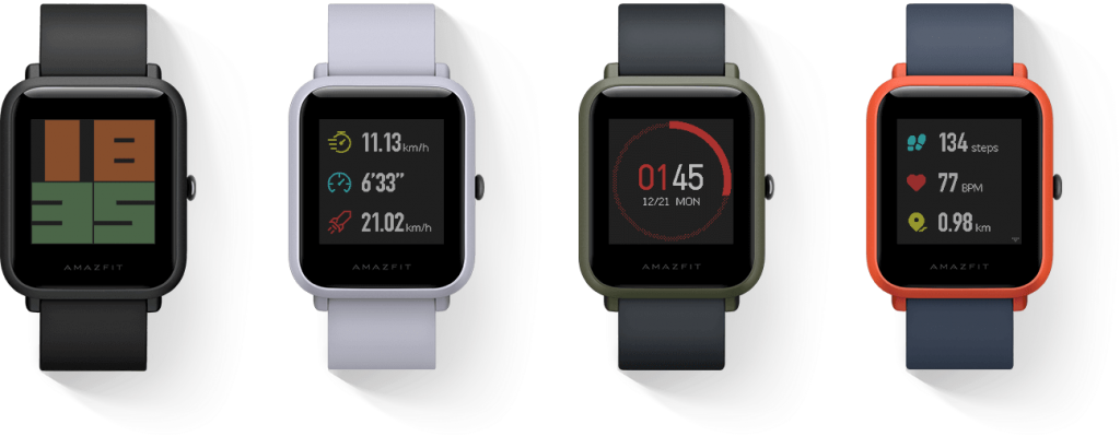 amazfit bip for runners