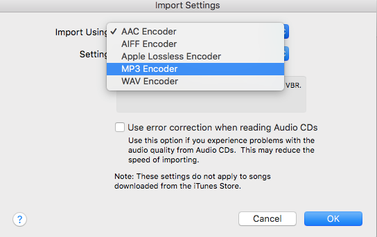 iTunes MP3 Encoder