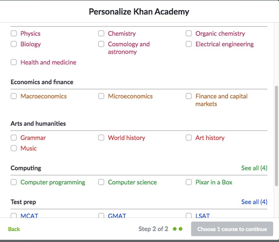 Personalize Khan Academy - Soda PDF