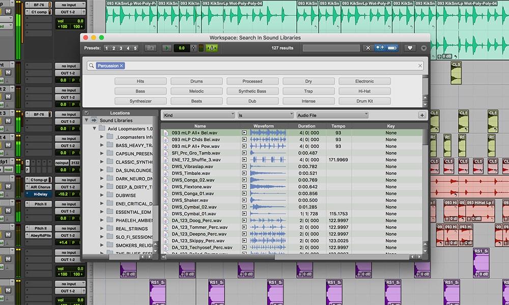 Pro Tools Sound Content