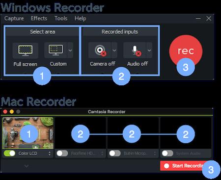 Camtasia Windows & Mac Recorder
