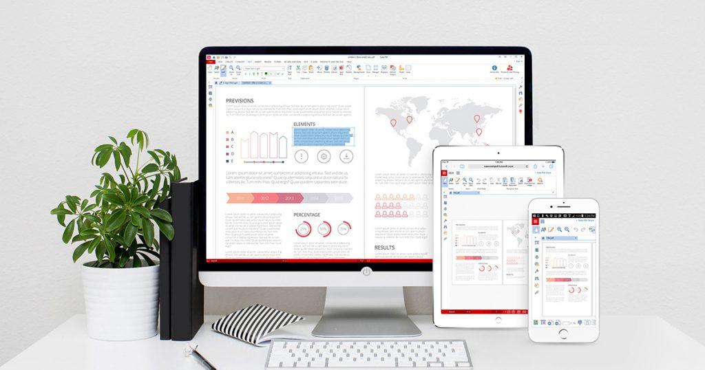 Mobile Tablet Desktop - Soda PDF