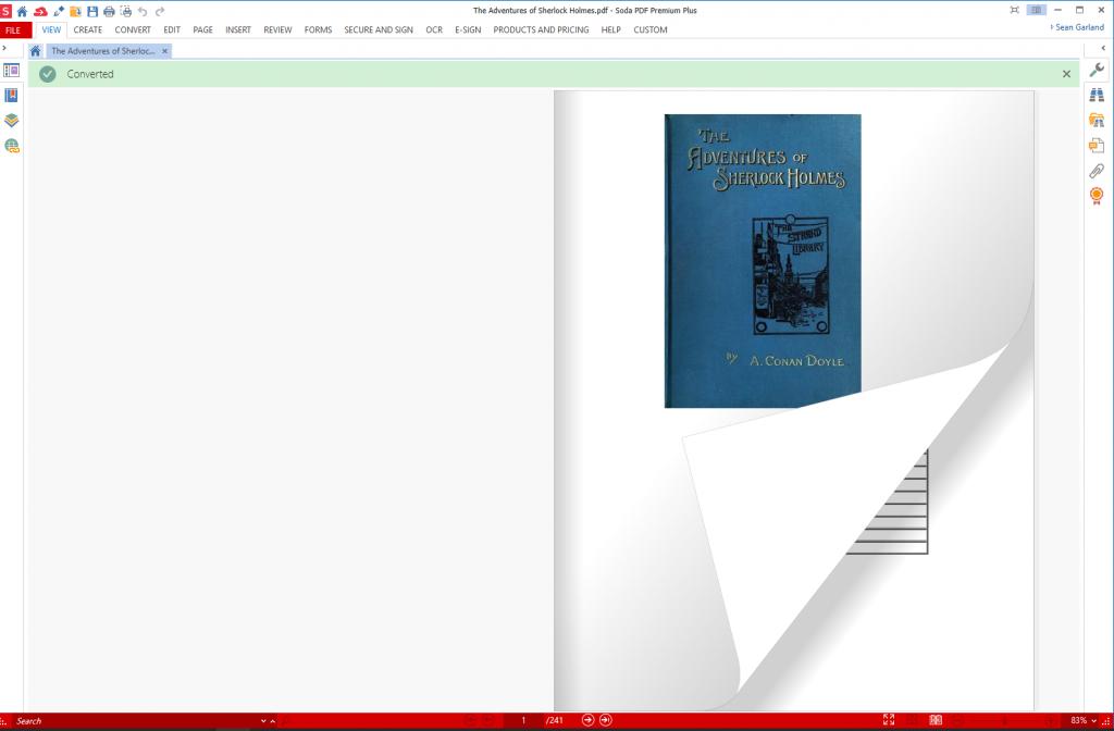 Soda PDF - 3D View example
