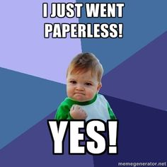 I Just Went Paperless - Soda PDF