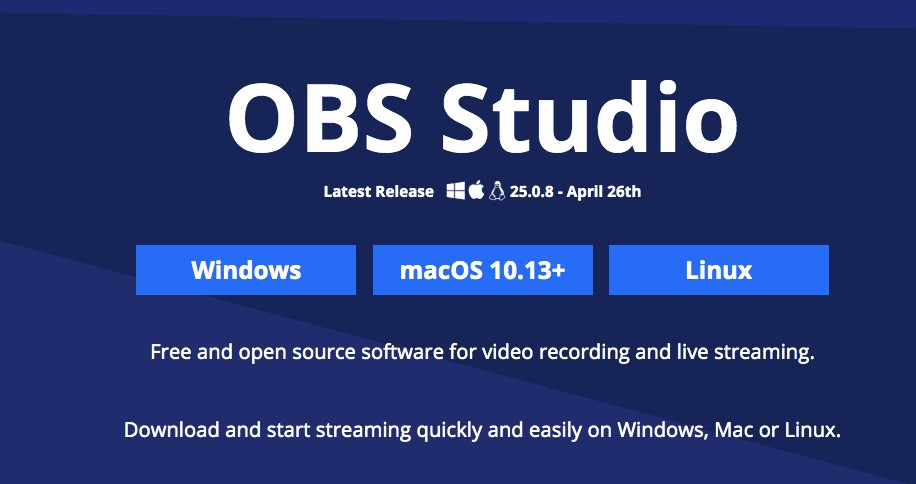 Open Broadcast Software