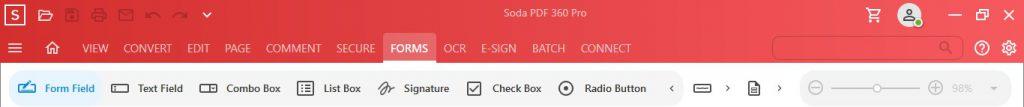 Form Fields - Soda PDF 12