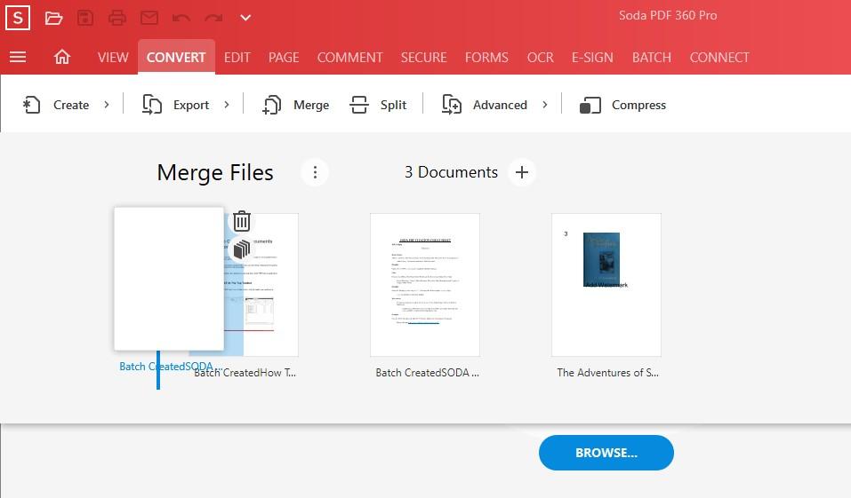 Combine Documents - Rearrange Files for Merge - Adjust Page Range or Delete - Soda PDF 12