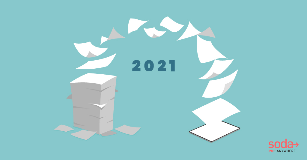 Top 5 Reasons to Go Paperless in 2021