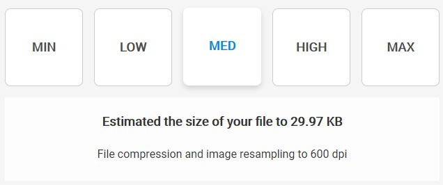 Medium Compression - Soda PDF Desktop - Compress File