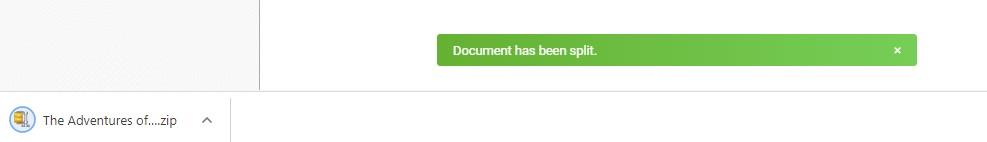 Document Has Been Split - Split PDF - Soda PDF Online - How To Split PDFs