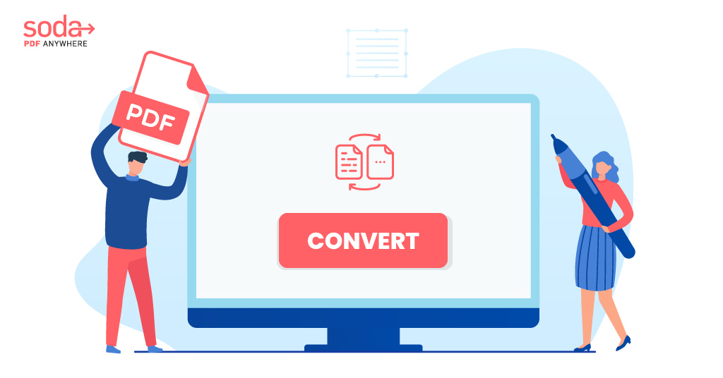How To Convert To or From PDF (Using Soda PDF)