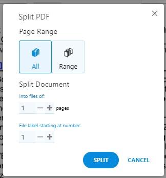 Split PDF - Split All - Soda PDF Online - How To Split PDFs