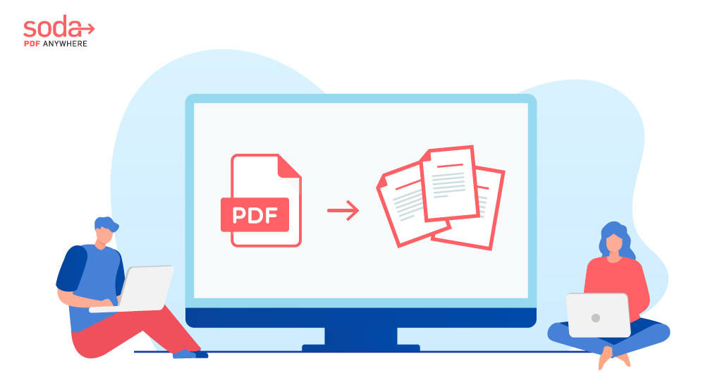 How To Split PDF Pages on MAC (Using Soda PDF Online)