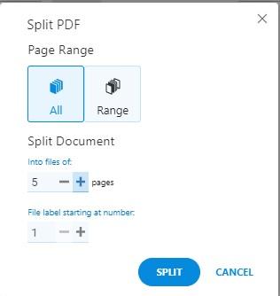 Split Tool - Split All Pages - Soda PDF Online - How To Split PDFs on MAC