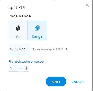 Split Tool - Split Range Pages - Soda PDF Online - How To Split PDFs on MAC