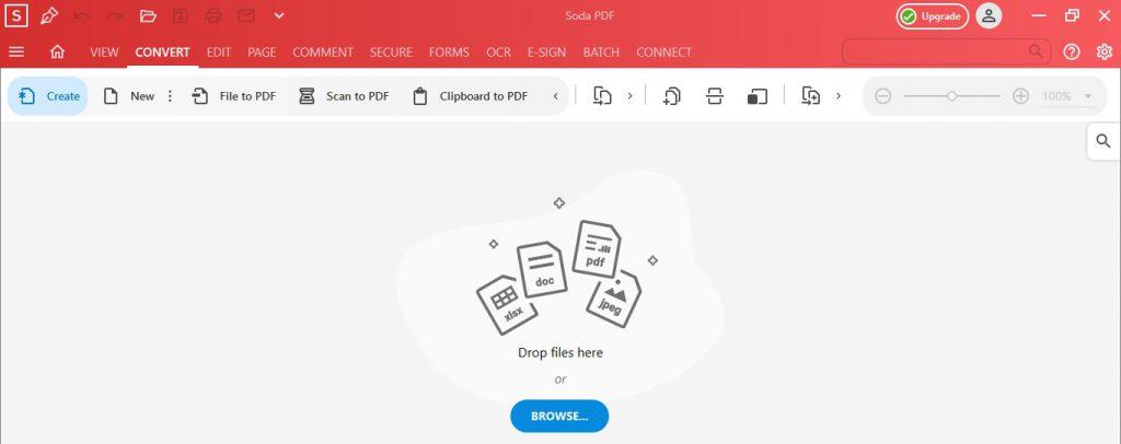 Soda PDF Desktop - Convert Feature - JPG to PDF - How to Convert JPG to PDF
