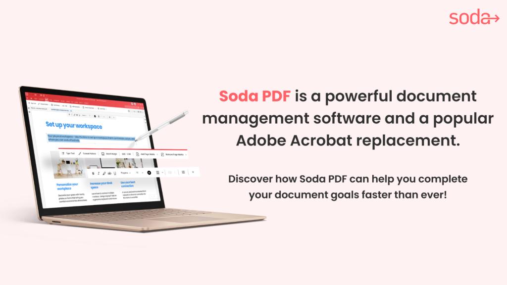 Soda PDF - The Best Adobe Acrobat Replacement