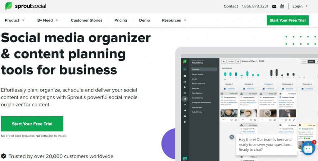 Sprout Social - Top 5 Social Media Tools - Soda PDF