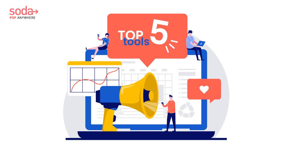 "<span class=""title"">Top 5 Social Media Management Tools</span>"