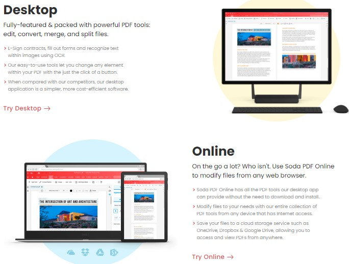 Desktop and Online - Soda PDF - PDF Software - How To Convert PDF to JPG