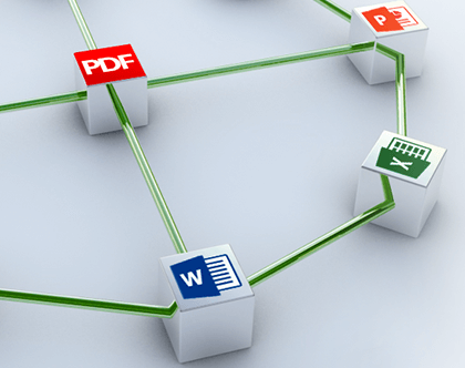 Create PDFs from over 300+ file formats