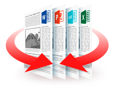 Convert PDF to multiple file formats
